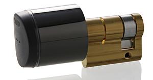 Geo Zylinder nun auch in schwarz erhältlich   Salto Geo Black n