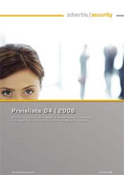 Adverbis-Security GmbH - Preisliste