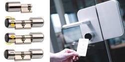 elektronischer Zylinder und digitaler Schließzylinder   RFID Schliessanlag