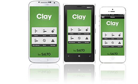 Cloud Zutrittskontrolle Handy