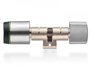 """Digitaler Schließzylinder """"Geo""""   XS4 GEO Swiss profile round cylinder with thumbturn 300x225"""