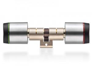 """Digitaler Schließzylinder """"Geo""""   XS4 GEO Swiss profile round double cylinder 300x225"""