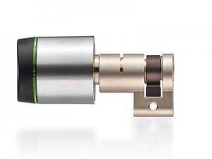 """Digitaler Schließzylinder """"Geo""""   XS4 GEO Swiss profile round half cylinder 300x225"""