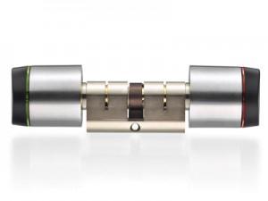 """Digitaler Schließzylinder """"Geo""""   XS4 GEO UK double cylinder 300x225"""
