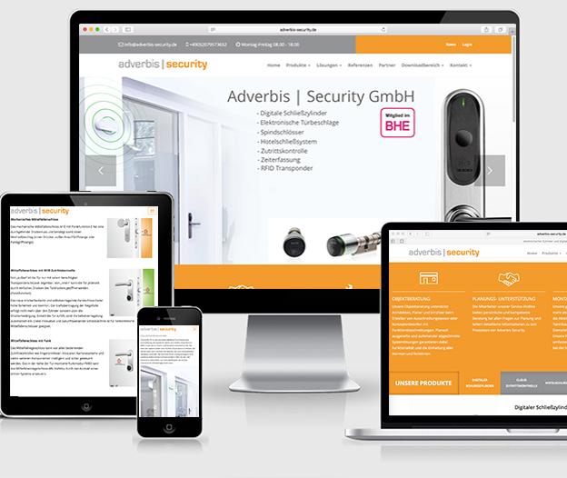 Adverbis-Security.de - neue Website