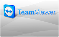 Fernwartung   teamviewer badge grey1